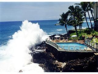 POIPU SHORES ..ON THE WATER!!! HEATED POOL..A/C!! - Poipu vacation rentals