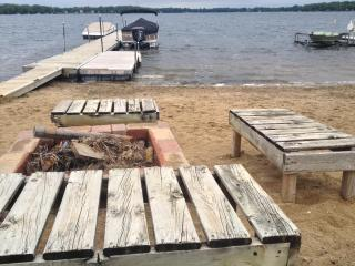 Lakefront Getaway includes Boat Slip & Sandy Beach - Powers Lake vacation rentals
