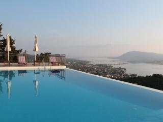 Private 5 bedroom villa with private swimming pool, spectacular views near Lefkada town, near beaches - Lefkas vacation rentals