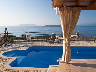 Luxury private villa with swimming pool, garden, sea views, bbq -  Sivota LEFKAS (Special Offer for October CAR included) - Lefkas vacation rentals