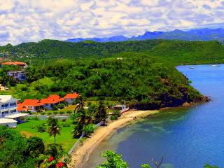 4 BR Beauty on 300ft of Sandy, Private Beach - Lance Aux Epines vacation rentals