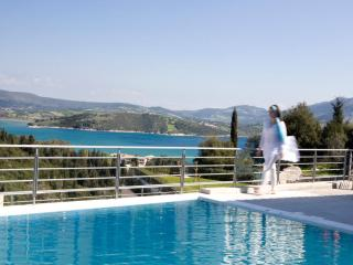 Luxury modern apartment with swimming pool, sea views, playground, BBQ - Lefkas vacation rentals