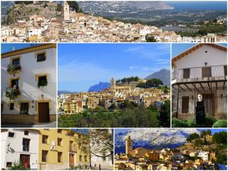 Traditional Spanish Village of Polop Attic Apart. - Polop vacation rentals