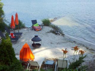 beautiful upscale home on lake with private beach - Plymouth vacation rentals