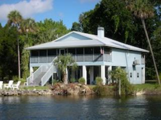 The House - Yankeetown,  Old Time Florida Community on the Nature Coast - Yankeetown - rentals