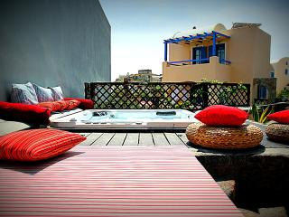 Athena Villa with outdoor Jacuzzi at Akrotiri - Santorini vacation rentals