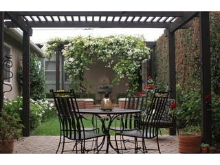 Outdoor Dining Area in Rose Garden - Beauty and the Beach - Delightful and Spacious Home - San Diego - rentals
