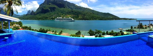 White Villa - MOOREA - pool & beautiful bay view - Image 1 - Moorea - rentals