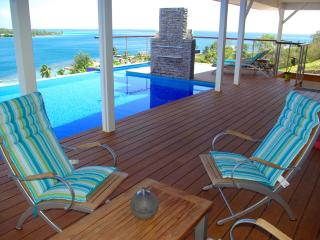 White Villa - MOOREA - pool & beautiful bay view - Society Islands vacation rentals