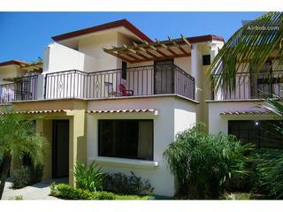 Front entrance and up stairs  - Jade Beach Villa 49 / close to beach and downtown - Playas del Coco - rentals