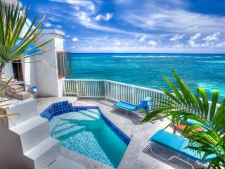 WOW! Romantic Ocean Front Honeymoon Cottage & Pool - Grapetree Bay vacation rentals