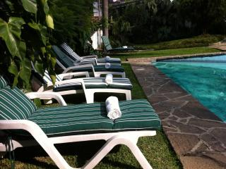 Villa Xochimilco w/ Tropical Gardens, Pool & Location - Cuernavaca vacation rentals