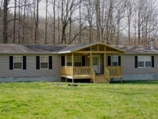 Creekfront-year round mountain views, lays in the valley looking up to moutnains- - Hayesville vacation rentals