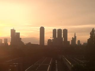 2room app with hastens massagebeds And stunning view over skyline of Rotterdam - Zuid-Holland vacation rentals