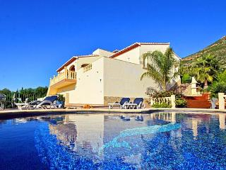 side of villa -  luxury  villa in javea spain