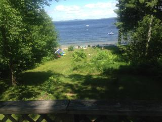 Private Cove with 100' of sandy beach - Sebago Lake vacation rentals