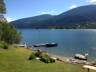 Hideaway Lakefront Forest Guesthouse Vacation Rental, Nelson, B.C. - Image 1 - Nelson - rentals