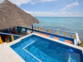 MAYA - CARI6 incredible outdoor living on the beach front - Paamul vacation rentals