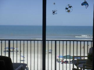 Upscale Beachfront Condo, 50' Plasma TV, Free Wifi, Private Double Balcony, - New Smyrna Beach vacation rentals