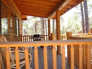 Peaceful Pines Cabin with Fenced Yard For Dogs and Gated Balcony in Show Low, AZ! - Show Low vacation rentals