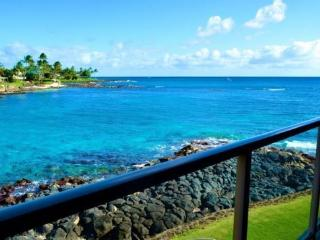 Free car* with Kuhio Shores 208 - Beautiful 1bd oceanfront with stunning ocean views. Next door to Lawai Beach. - Poipu vacation rentals
