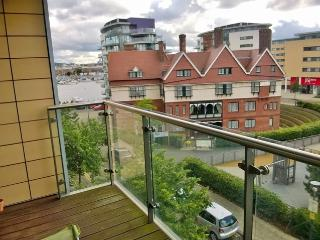 DOCKLANDS EXCEL MARINA BALCONY FLAT 2bed2bath nr City Airport - London vacation rentals