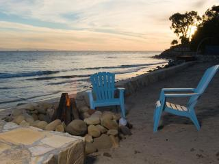 Private Beach Paradise on Billionaire Row, Padaro - Santa Barbara County vacation rentals