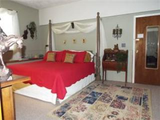 Master Bedroom with King Bed - The Homestead - Private Suite,Cornell,Ithaca, B&B - Brooktondale - rentals