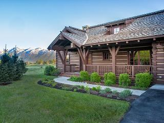 Eagle's Rest - THE Cabin with Teton Views at JH Golf and Tennis - Jackson vacation rentals