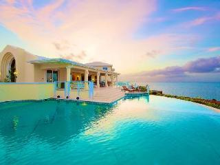 Prime Beachfront Estate on 24 Acres - Media Room and Gym - Stargazer - Providenciales vacation rentals