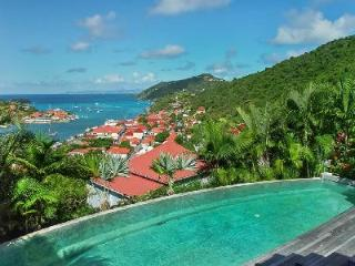 Unique Fabrizia on private estate with sunset facing circular pool and Jacuzzi - Gustavia vacation rentals