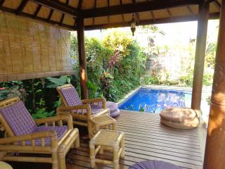 Bale (Gazebo) for reading, yoga, breakfast, star gazing... - Angel Villa Bali