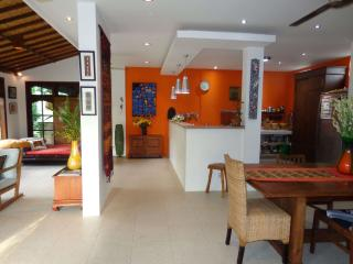 View from front door to kitchen, dining lounge - Angel Villa Bali