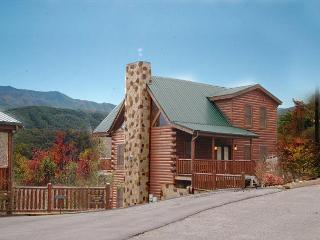 Cabin in between Gatlinburg and Pigeon Forge Buck Naked Lodge 327 - Sevierville vacation rentals