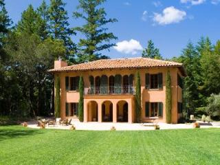 Luxurious Tuscan-style Villa Nel Bosco with pool, jacuzzi, fire pit, bocce court & vineyard - Glen Ellen vacation rentals