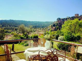 Lovely house with garden and spectacular views! - Cotignac vacation rentals