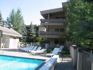 Luxury 2bedroom, 2 bath, year round heated outdoor pool/ hot tub, ski in-out, @ River Run lifts in Ketchum. - Ketchum vacation rentals