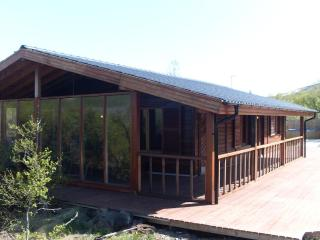 Luxury 3 bedroom summerhouse in Husafell - Hraunfossar vacation rentals