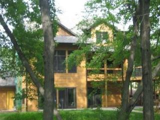 Luxury Lakefront Home - Wooded Lot on Spencer Lake - Waupaca vacation rentals