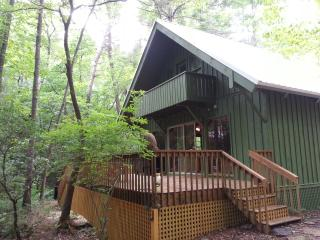 Creekside Overlook - Large Deck overlooking Creek - North Georgia Mountains vacation rentals