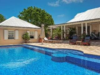 Picturesque Villa Captiva has a heated pool, private dock and sea access - Marigot vacation rentals