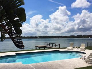 IDYLLIC IRBeach WATERFRONT House with PRIVATE POOL - Indian Shores vacation rentals