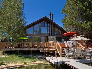 Spacious lakeside home with private dock - Sun and Ski Tahoe - Mountain Village vacation rentals
