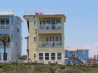 Newly Constructed 4 bedroom 3.5 bath with an ocean view in gated Village Walk - Port Aransas vacation rentals
