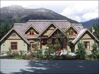 Well Appointed Living Room with Log Fireplace - Private Gym/Yoga Room (4131) - Whistler vacation rentals