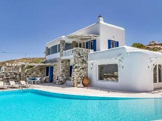 Magdalena offers dazzling views of the sea and Delos island with serene pool - Mykonos vacation rentals
