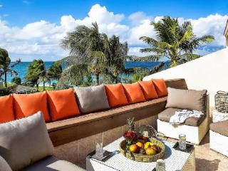 A quiet beachfront villa, Paraiso Townhome at MiraMar Villas offers private beach access & pool - Paradise Island vacation rentals