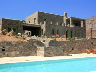 Large 7-Bdrm Stone Villa with Pvt Pool in Serifos - Athens vacation rentals