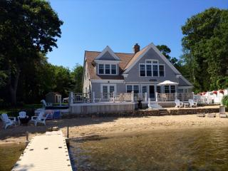 Lake view with a private deck - Osterville vacation rentals