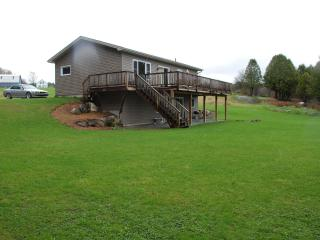 Lakefront Home with Dock, Beach and on Vast Trail - Newport Center vacation rentals